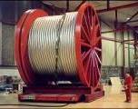 Reel handler - Cable reel equipment for moving large heavy load reels and rolls
