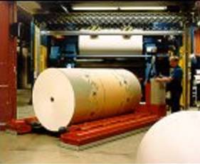 Paper Roll Handling, air film roll movers are a great material handling solution