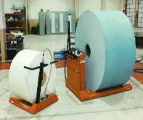 Paper roll handling - Paper Roll mover from storage to machine