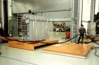 Transformer Handling made easy on air film transporters. Handling transformers and windings for the Heavy Electrical Industry